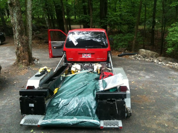 A New Hoist for the Garage at the Cottage
